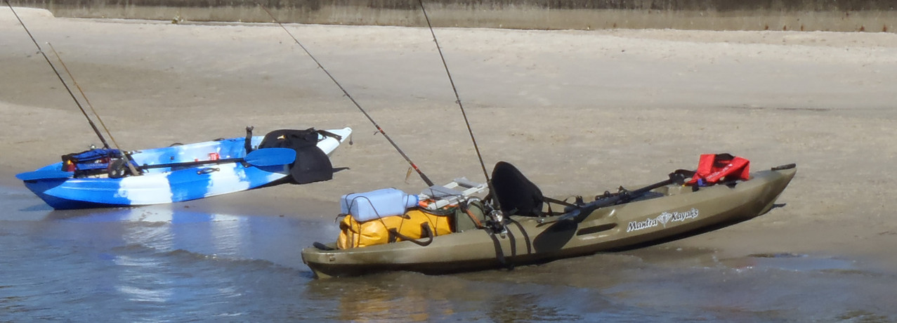 Now this is a kayak fishing kayak!
