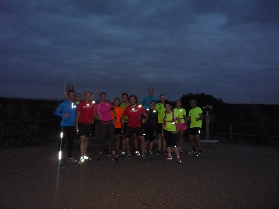 MIndful Run met Social Mile Fullmoonrun 2014