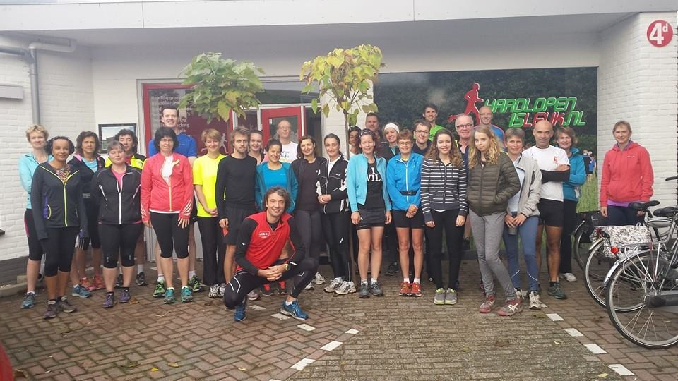 Mindful Run zaterdagmorgen groep Amerongen 2014