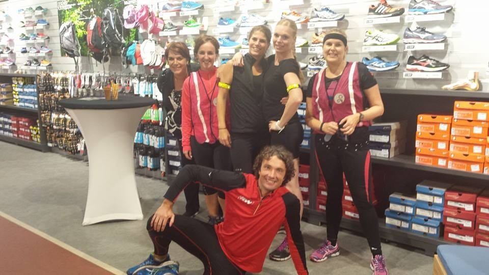 Mindful Run workshop Lady's night Runnersworld Arnhem 2014