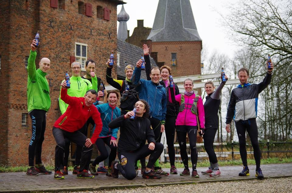 Mindful Run trail event kasteel Doorwerth
