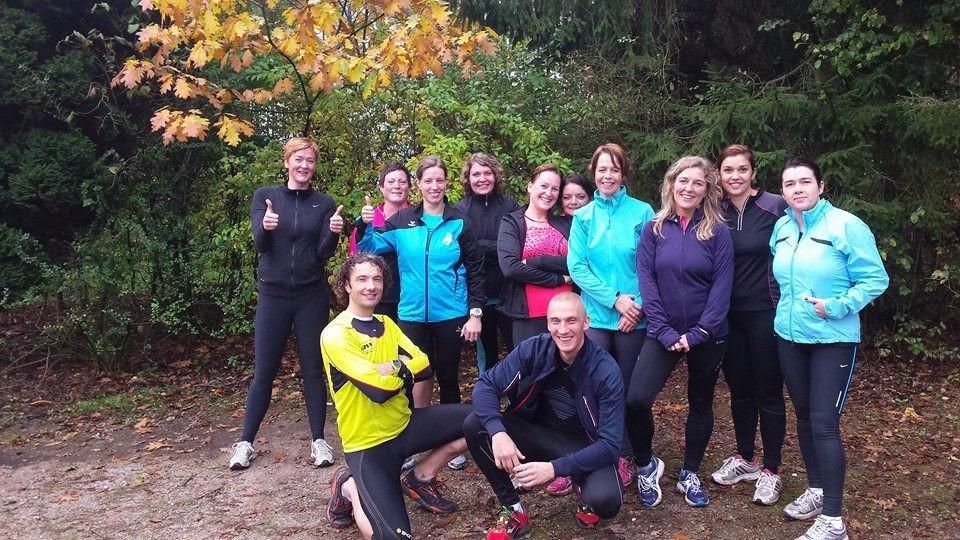 Mindful Run zondagmorgen groep Nijverdal 2014