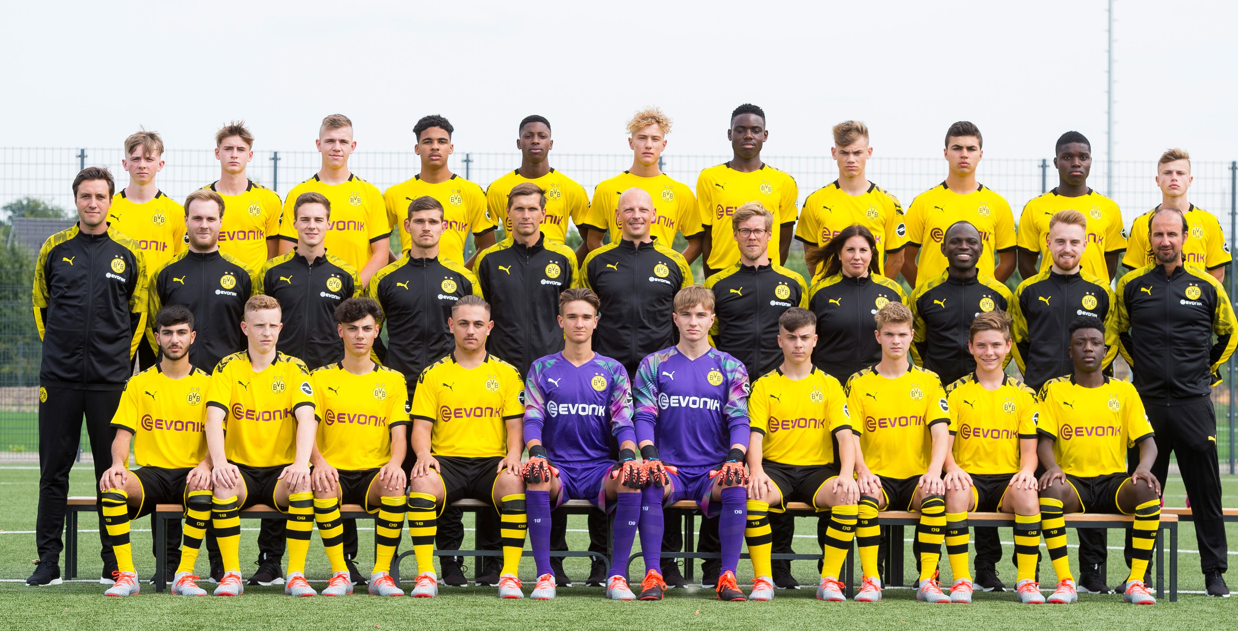 U16 Kader Saison 2019 2020 Bvb2004er