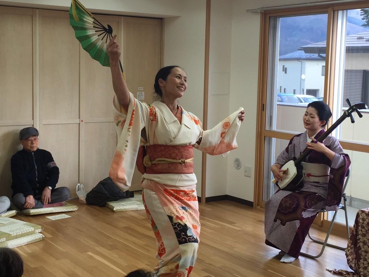2016/1/11 陸前高田にて。津軽アイヤ節。