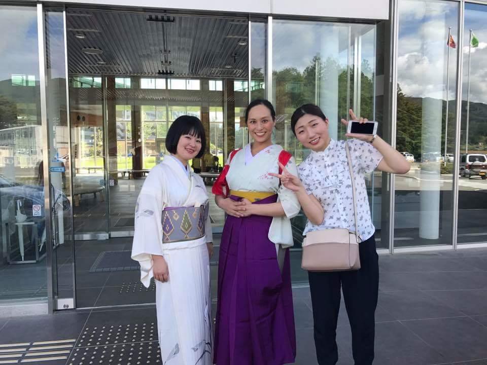 7/30 陸前高田コミュニティホールにて。スケジュールの都合で、箏のゆんぴはここまで。