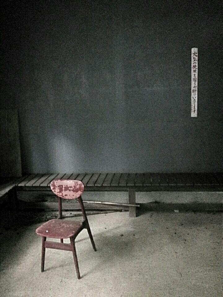 in einem verlassenen Tempel