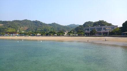 広島県江田島市のヒューマンビーチ長瀬・長瀬海岸