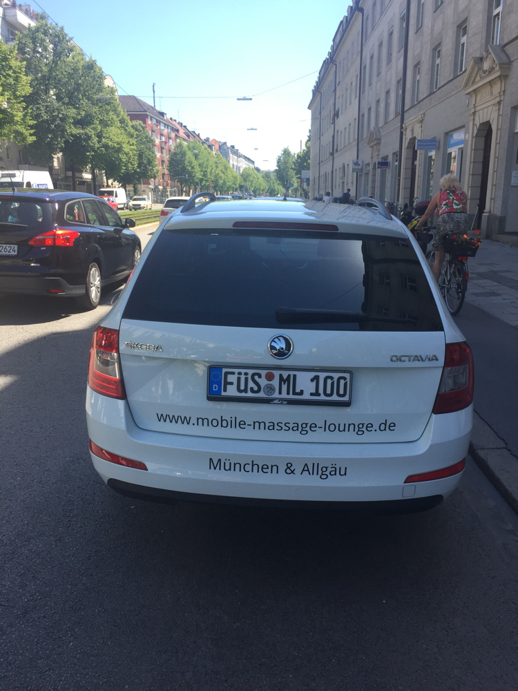 Mobile Massage in München