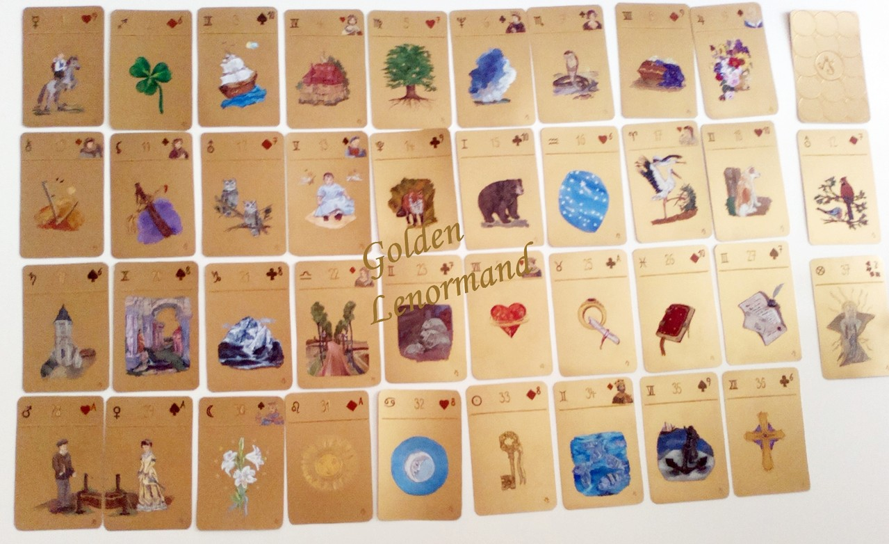 Das Golden Lenormand im Original