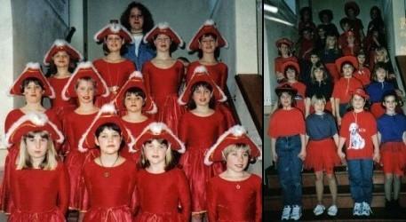 Premiere: Unsere Garde- und Schautanzgruppe 1998