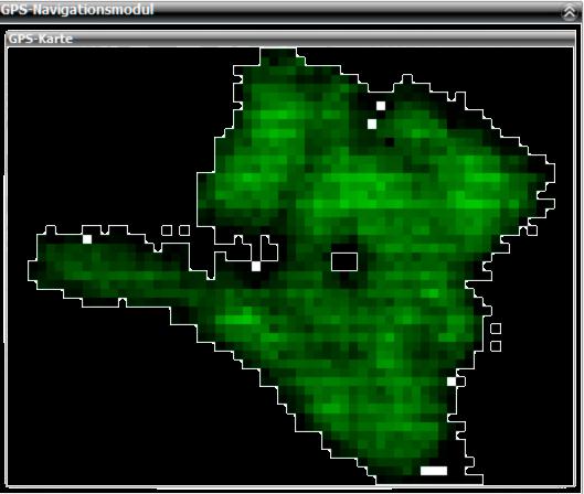GPS Karte nach dem Auslesen