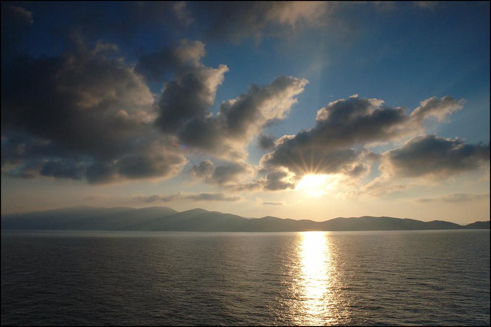 Freitag 6.15 Uhr-ein traumhafter Sonnenaufgang