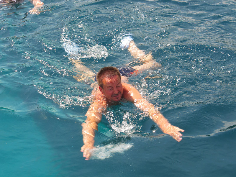 das Wasser hat 19,8 Grad