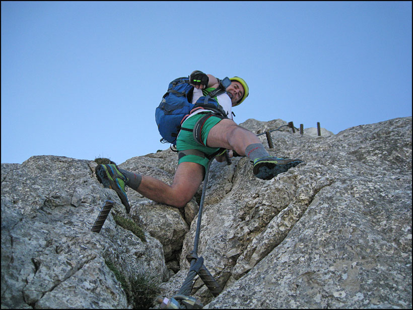 Klettersteig Intersport : Gablonzer hütte intersport klettersteig c d