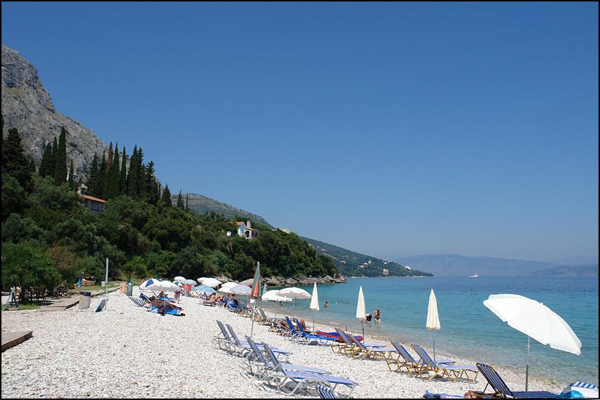 der Strand von 'BARBATI'