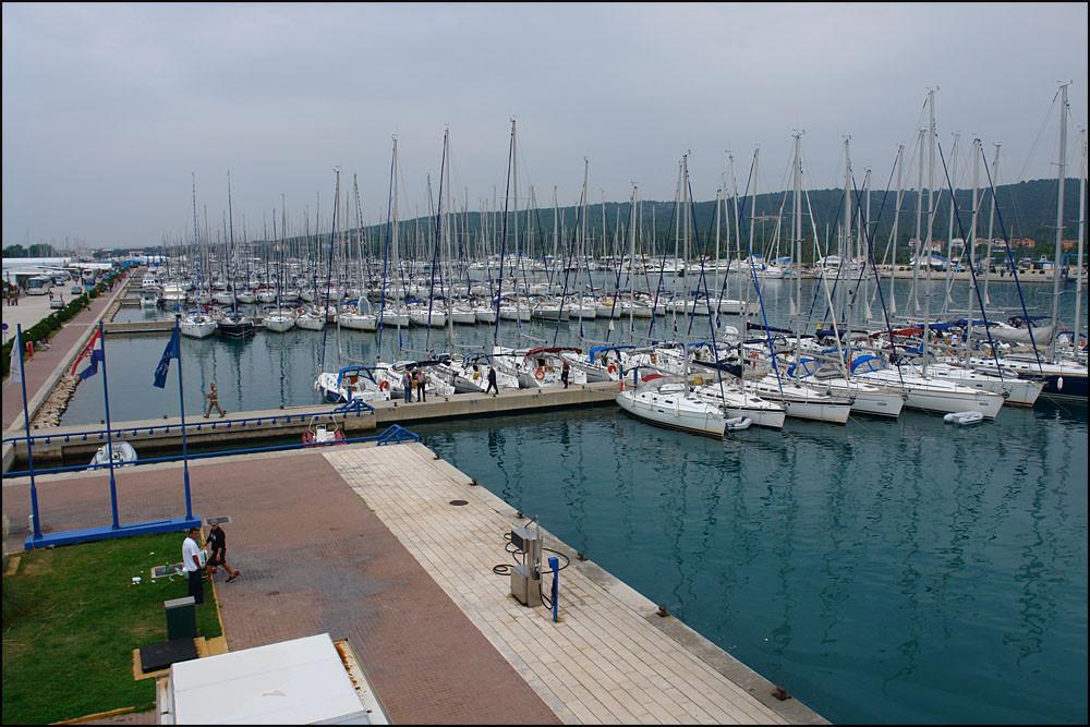 'SUKOSAN'-der größte Hafen Dalmatiens-hier beginnt unser Abenteuer
