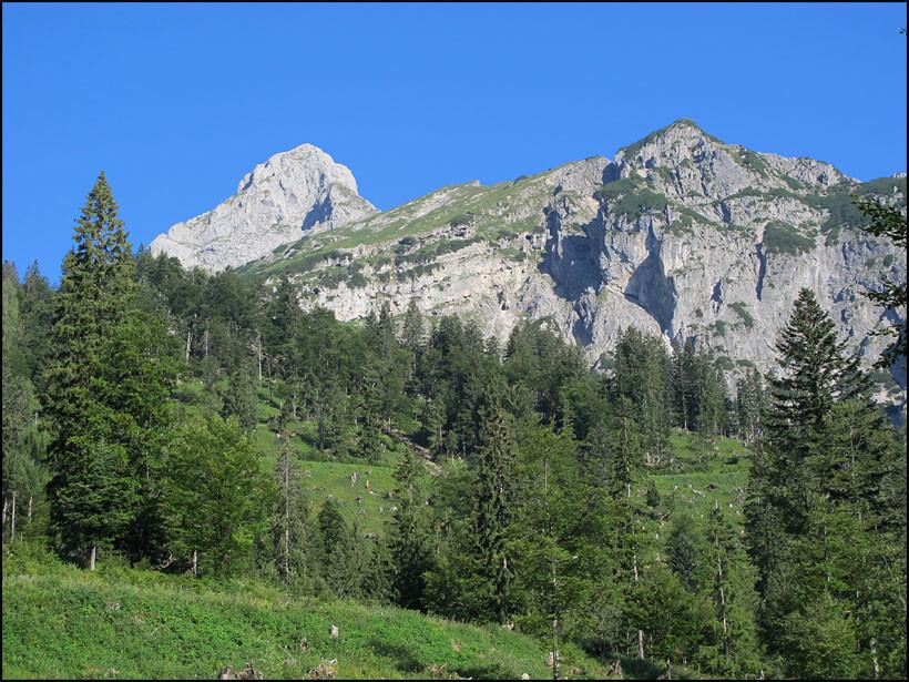 Klettersteig Johnsbach : 15.8. johnsbach ghf. donnerwirt 753 mödlinger hütte 1523 trefner