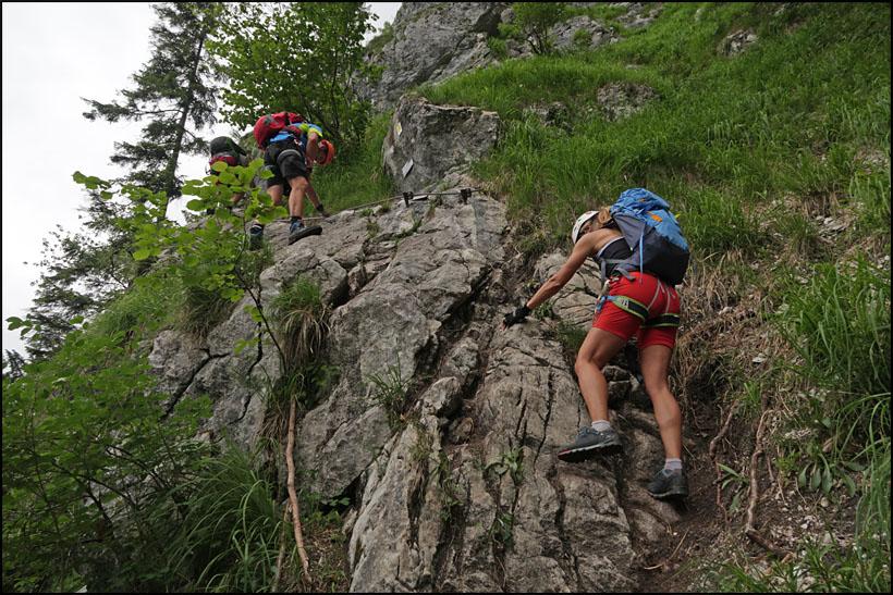 Klettersteig Attersee : Berg heil am attersee klettersteig salzburg adventures