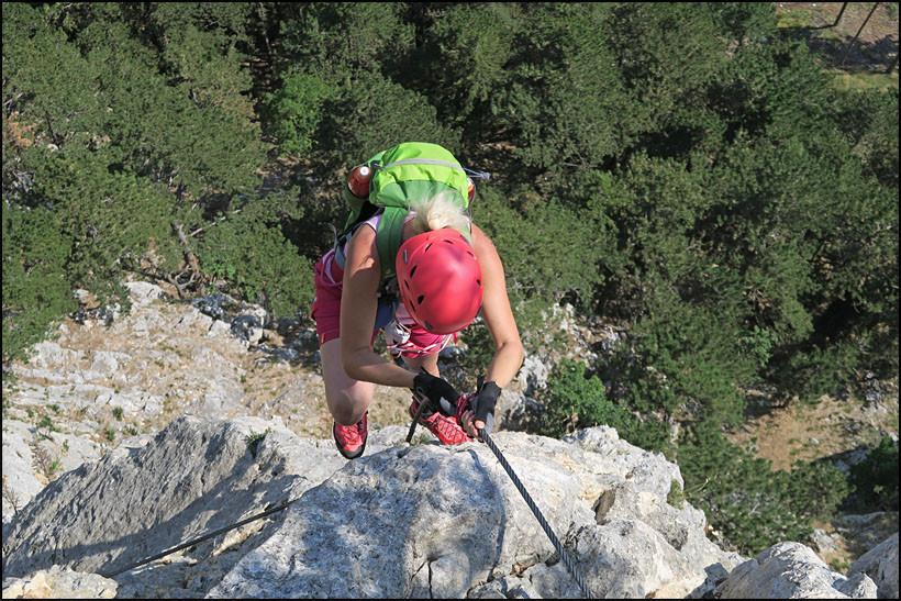 Hohe Wand Klettersteig : Hohe wand gutensteiner alpen