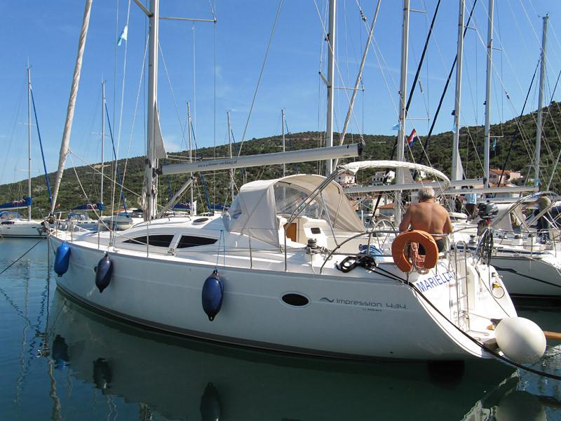unser Schiff die 'Mariella'