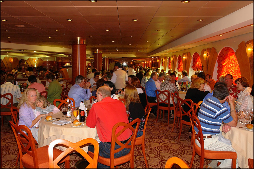 Abendessen im L' OLEANDRO Restaurant