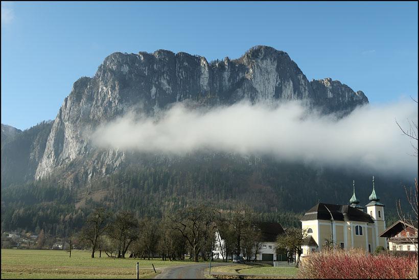 Klettersteig Drachenwand : St lorenz drachenwand klettersteig c oder var d