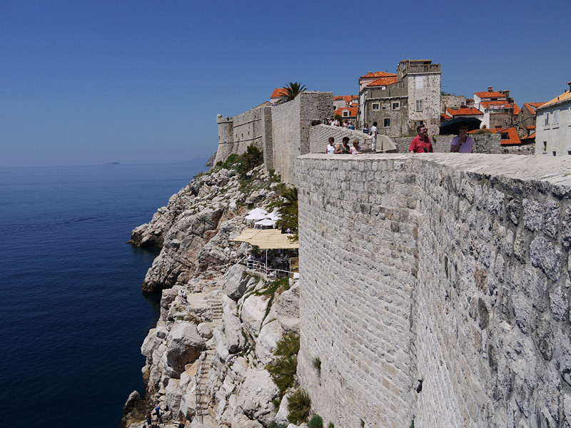 beeindruckend die Stadtmauern
