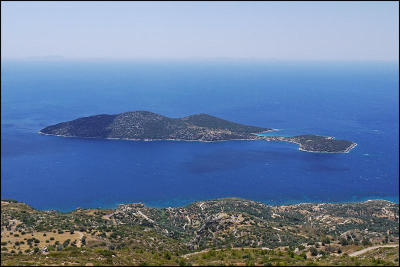 die Insel 'Samiopoula'