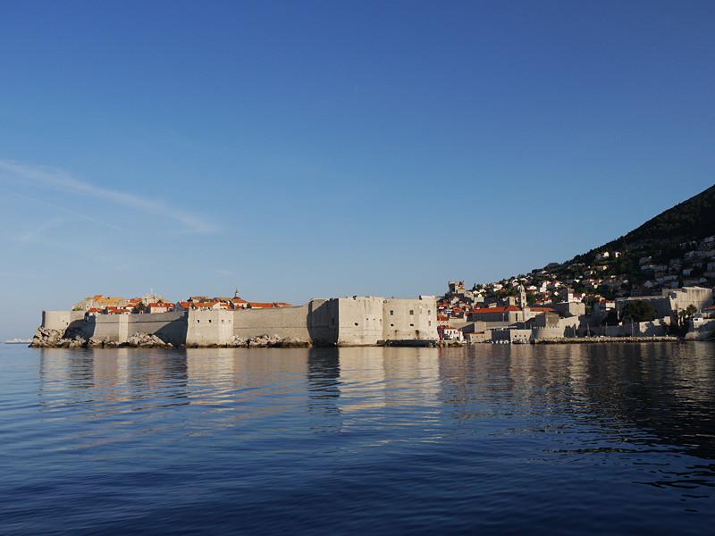 wir erreichen 'Dubrovnik'