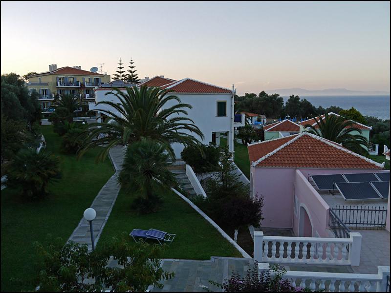 Blick von unserem Balkon...