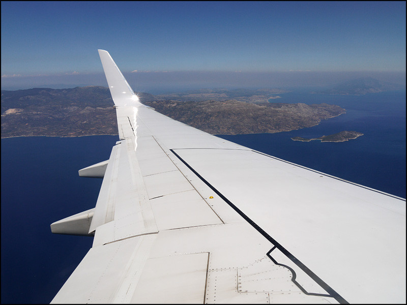 Anflug auf 'Samos'