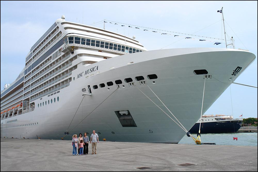 unser Schiff-die 'MSC MUSICA'