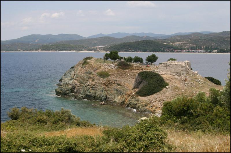 die Festung 'LEVTHONIA' in 'TORONI'