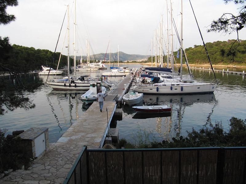 in der 'Palwicana ACI Marina' verbringen wir die Nacht