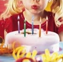 gâteaux d'anniversaire, bougies
