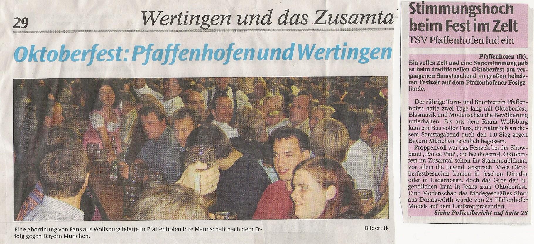 2008 Oktoberfest Pfaffenhofen