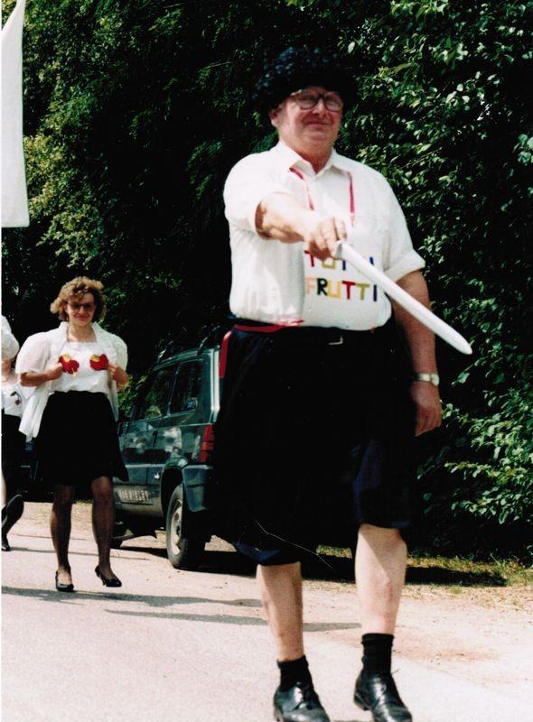 1990 Wilhelm Schulze Gründung schöne Garde