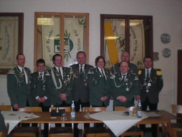 2010 alter und neuer Vorstand