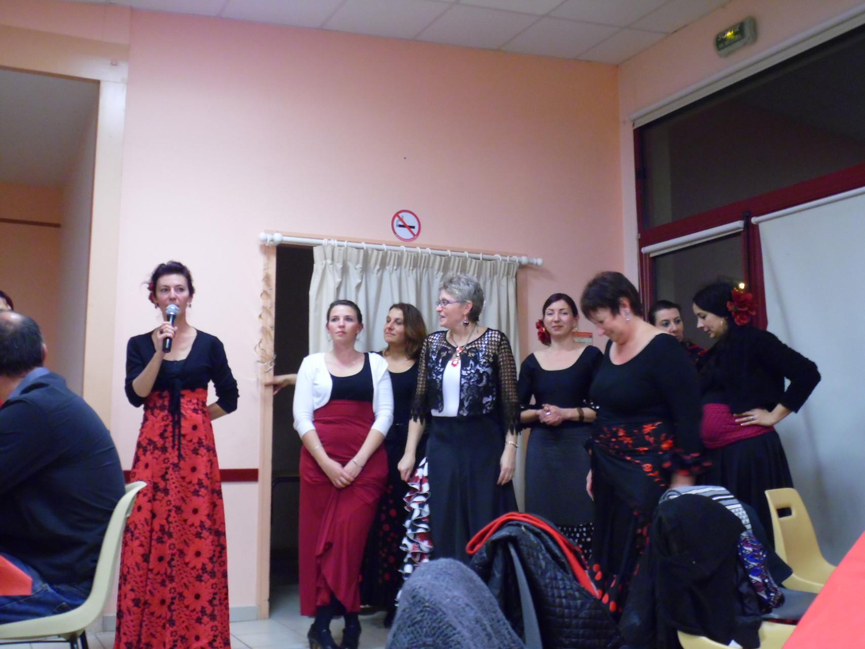Le groupe Atelier Flamenco de bourges