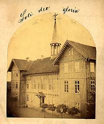 Ev. Stift. Gymnasium um 1890
