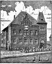 Vom Amtshaus Brackwede wurden Niehorst, Ebbesloh , Hollen und Isselhorst verwaltet.