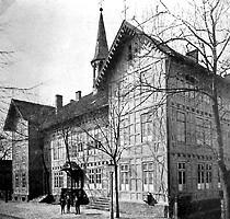 Gymnasialgebäude von 1852 bis 1928