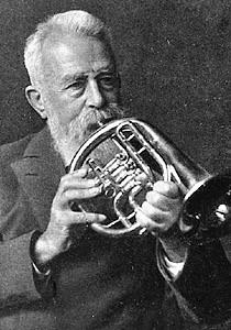 Johannes Kuhlo, Gründer des Posaunenchors