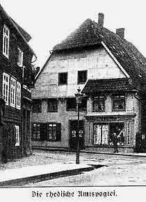 Alte Amtsvogtei, Kirchstraße