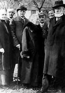 3. von links:August Meier Raßfeld, Gemeindeverordneter von Blankenhagen
