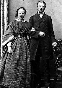 Otto Meyer mit Frau