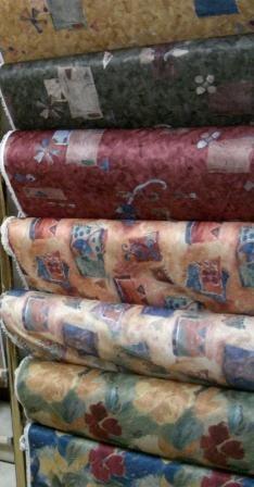 Collection de tissus, des prix abordables, visitez-nous au Décor Gabriel