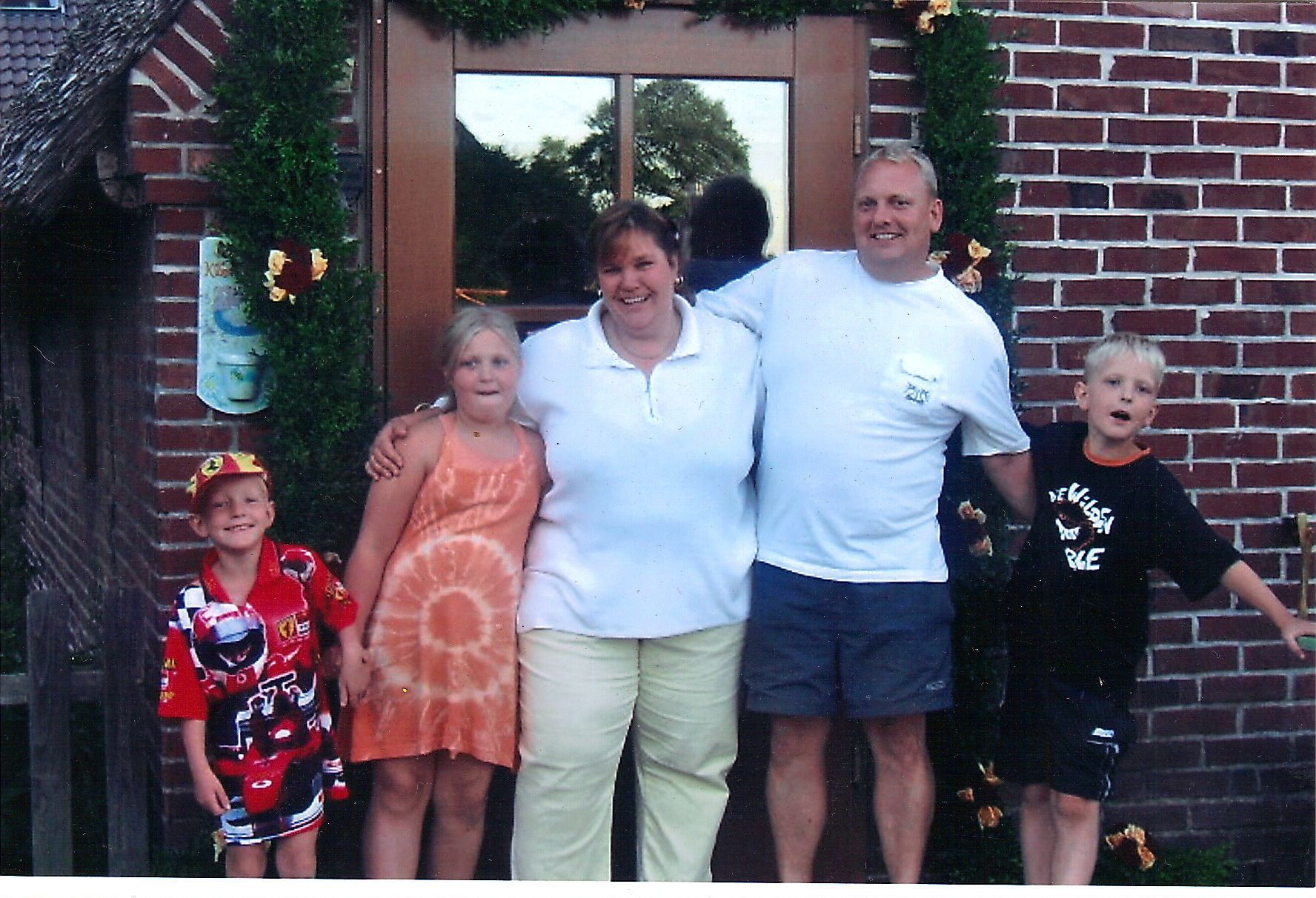 Oliver, Jasmin, Tanja, Frank und Joe Koelbel