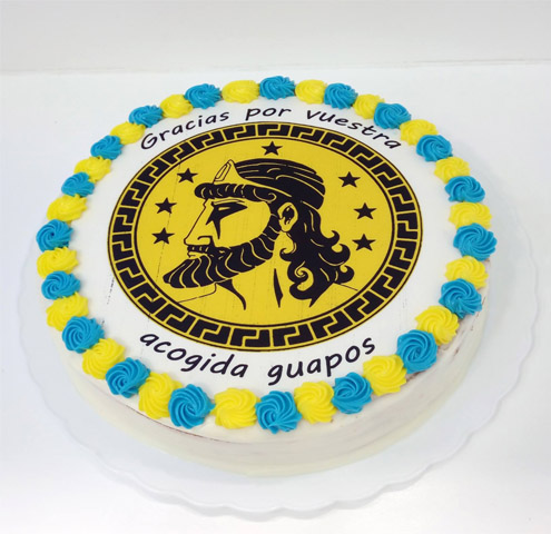 Tarta equipo rugby