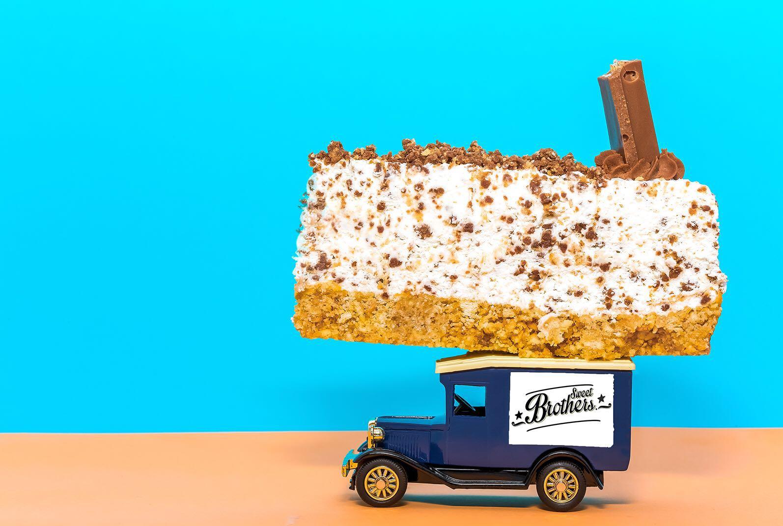 Cheesecake de KitKat